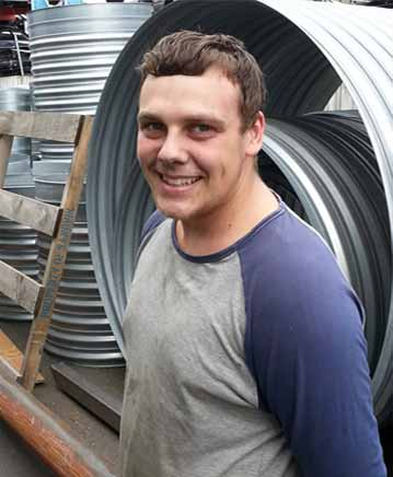 Apprentice at Express Sheetmetals