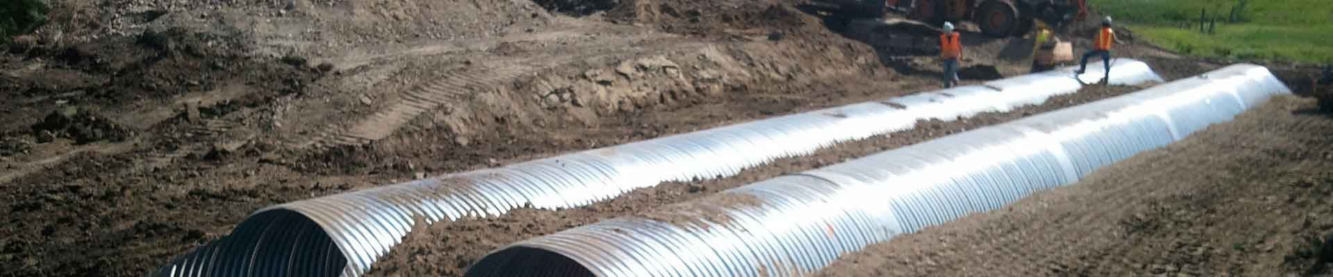 Pipe installation in ground